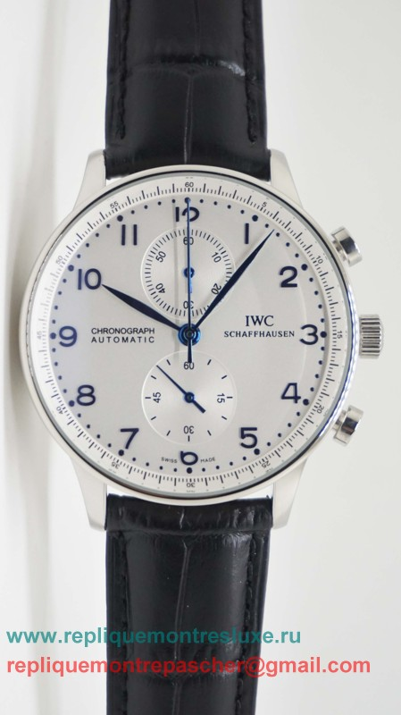 IWC Portuguese Working Chronograph ICM22