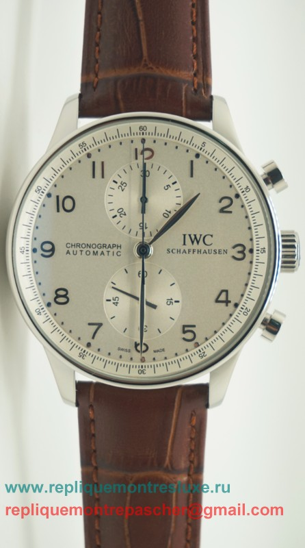 IWC Portuguese Working Chronograph ICM29