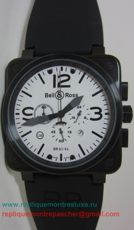 Bell & Ross BR01-94 Working Chronograph BRM34