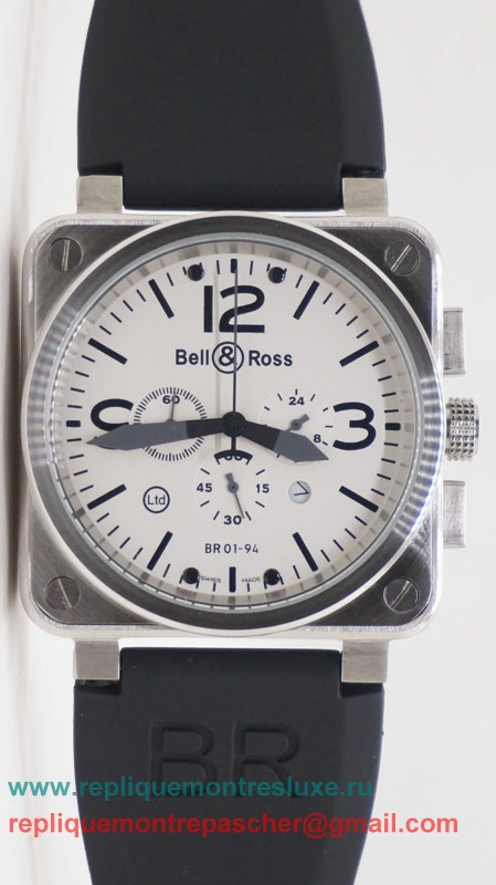 Bell & Ross BR01-94 Working Chronograph BRM37