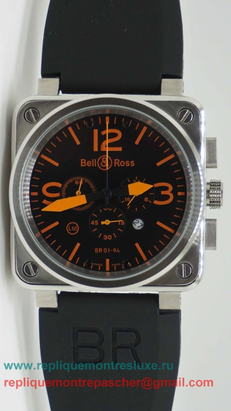 Bell & Ross BR01-94 Working Chronograph BRM40