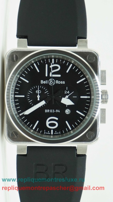 Bell & Ross BR03-94 Working Chronograph BRM55