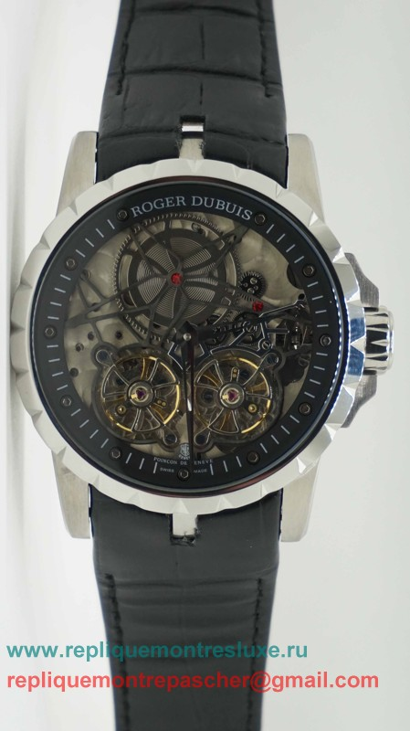 Roger Dubuis Automatique Double Tourbillon Skeleton RDM38