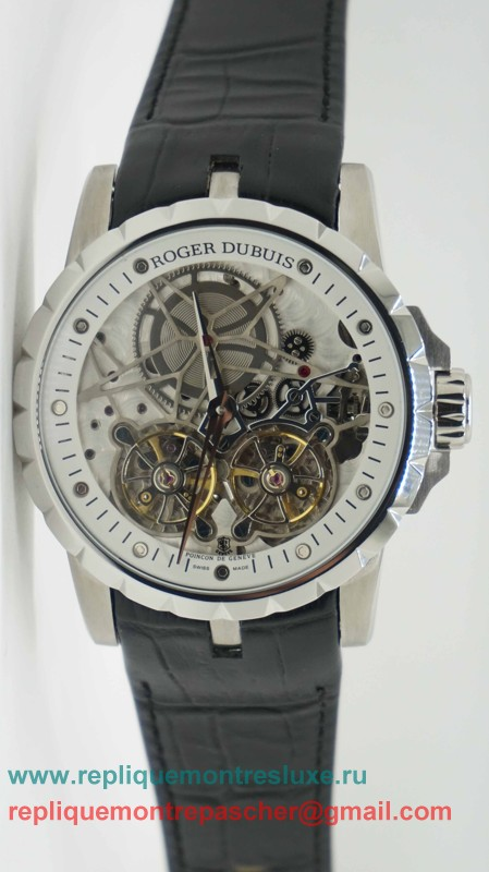 Roger Dubuis Automatique Double Tourbillon Skeleton RDM39