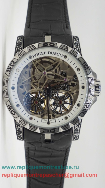 Roger Dubuis Automatique Double Tourbillon Skeleton RDM47
