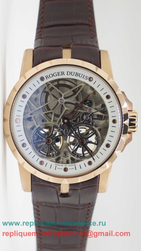 Roger Dubuis Automatique Double Tourbillon Skeleton RDM51