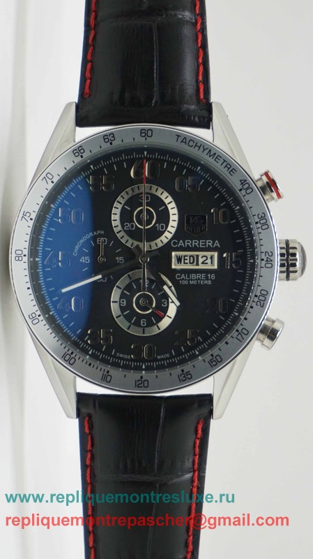 Tag Heuer Carrera Calibre 16 Working Chronograph THM17