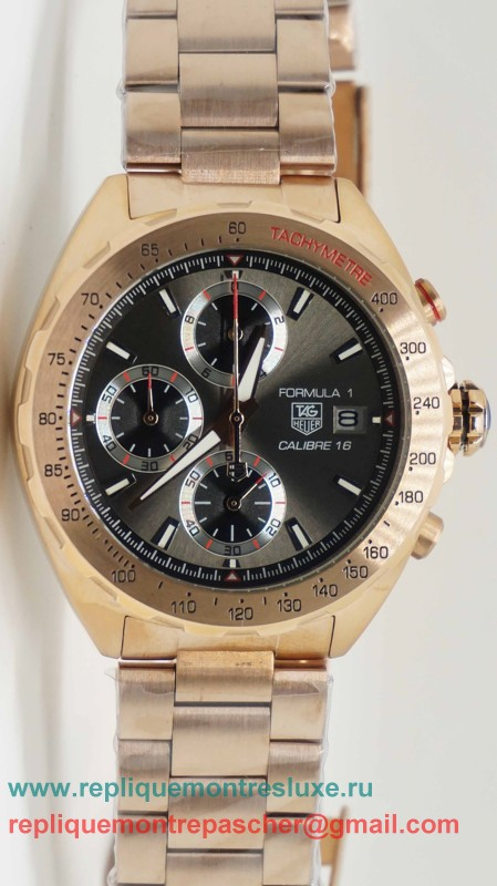 Tag Heuer Formula 1 Calibre 16 Working Chronograph S/S THM100