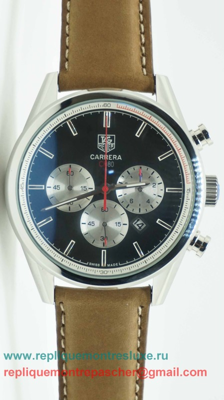 Tag Heuer Carrera CH80 Working Chronograph THM74