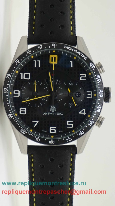 Tag Heuer Carrera McLaren MP4 12C Working Chronograph THM78