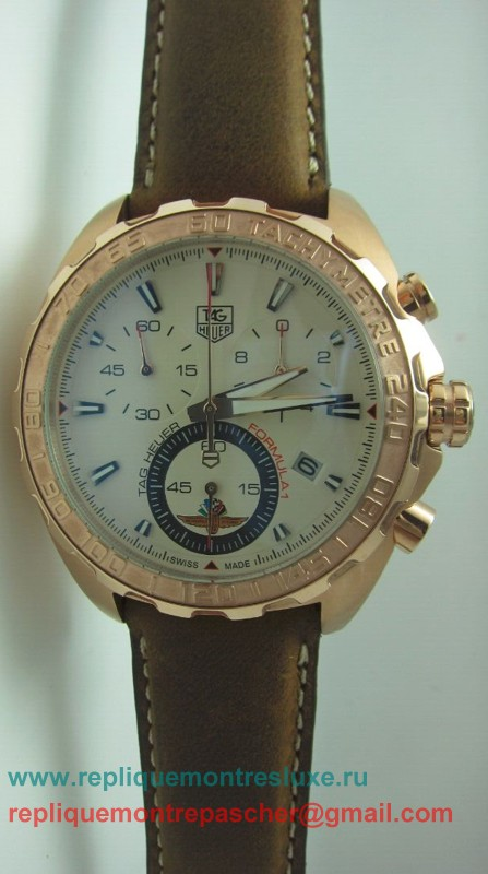 Tag Heuer Formula 1 Working Chronograph Rose Gold THM83