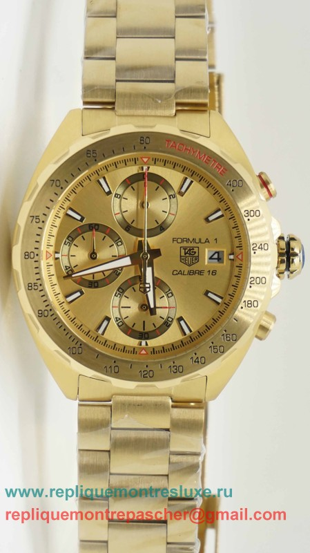 Tag Heuer Formula 1 Calibre 16 Working Chronograph S/S THM99